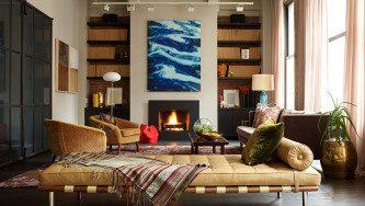NYC Loft, Interior Design: Elena Frampton