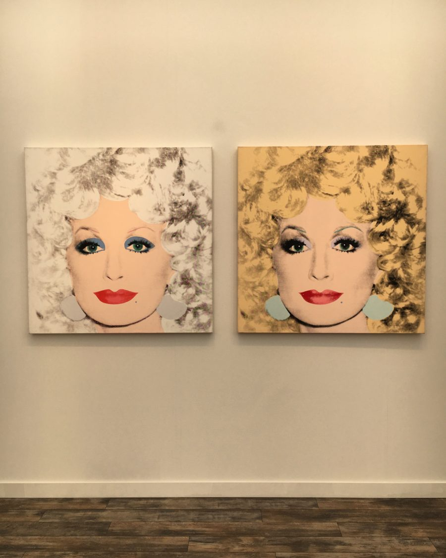 Andy Warhol, Dolly Parton 1985 at Frieze New York