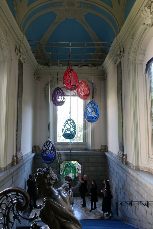 Campana Brothers at Louis Vuitton's Objets Nomades at Palazzo Bocconi