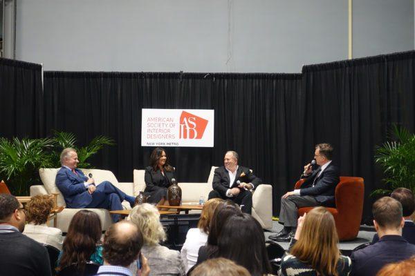 Elena with panelists