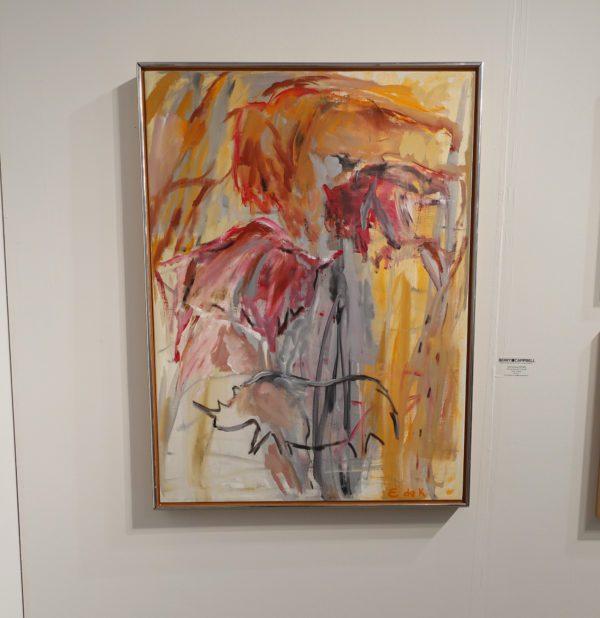 Elaine de Kooning at Art Miami