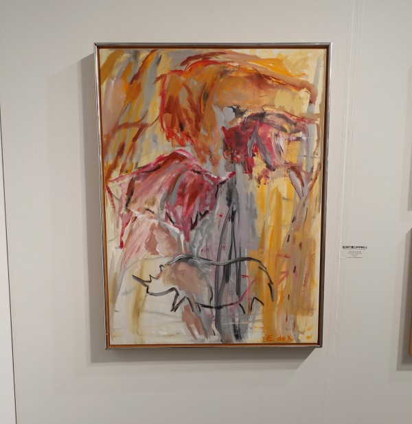 Elaine de Kooning at Art Miami