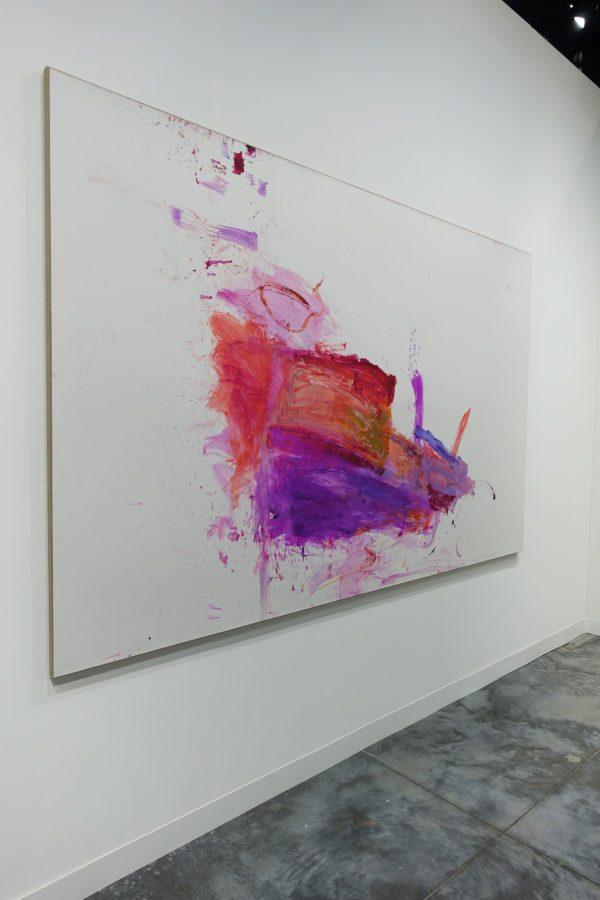 Martha Jungwirth at Art Basel