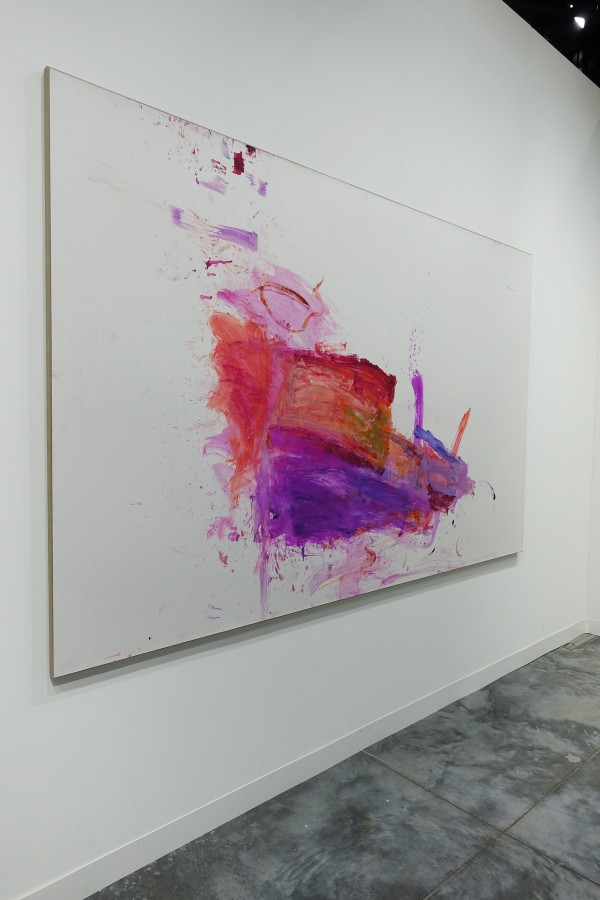 Martha Jungwirth at Art Basel