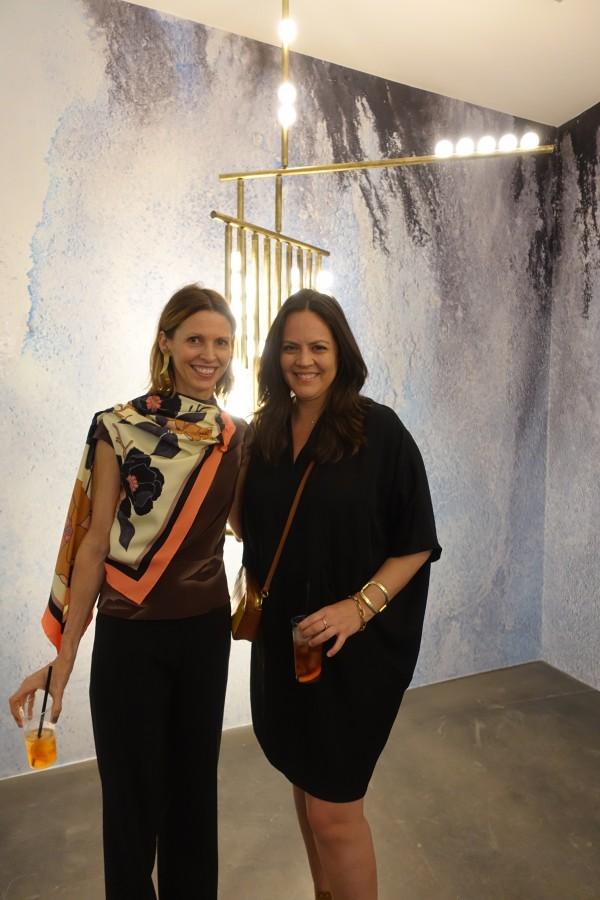Elena with Lindsey Adelman