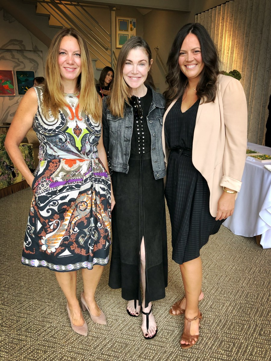 Elena with Christine and Laura